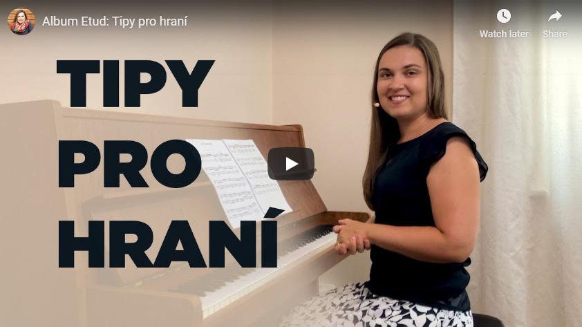 12 etud pro mírně pokročilé klavíristy
